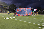 West Monroe finished undefeated (10-0) for the season as the Rebels beat Natchitoches Central 53-7 in a District 2-5A game. The game was played at Turpin Stadium, Natchitoches, La. 3Nov2017