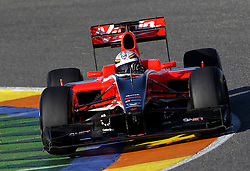 Motorsports / Formula 1: World Championship 2011, Test Valencia, Jerome D'Ambrosio ( BEL, Marussia Virgin Racing )