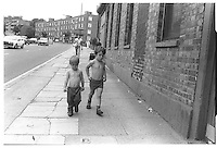 Shooters Hill,London street photography in 1982. Tri-X