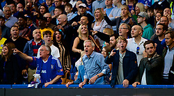 LONDON, ENGLAND - Saturday, September 29, 2018: Chelsea supporters during the FA Premier League match between Chelsea FC and Liverpool FC at Stamford Bridge. (Pic by David Rawcliffe/Propaganda)
