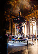 Going to Versailles wasn't high on my list of places to visit primarily because I knew it would be so well manicured. But there were a few surprises. The Murakami exhibit being the first. The Murakami pieces contrasted against classical Versailles was refreshing. And then there was a pond where Marie Antoinette would go to get away from it all while getting away from it all.