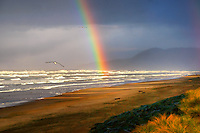 Rainbow @ Rockaway Beach, Oregon