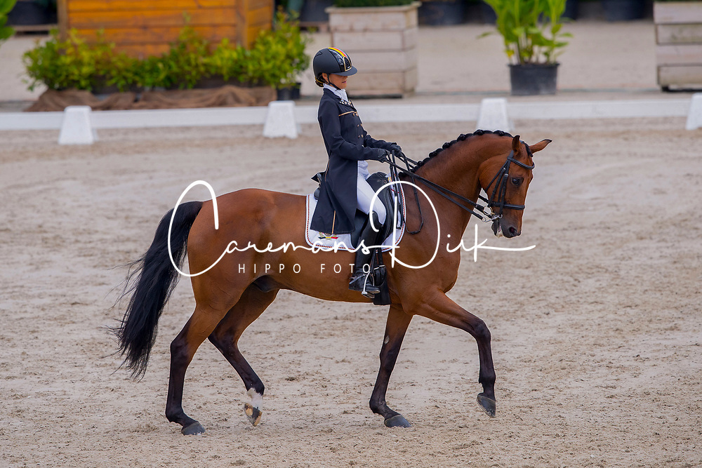 Gysels Jamina, BEL, Zico<br /> European Championships Dressage<br /> Roosendaal 2017<br /> &copy; Hippo Foto - Leanjo de Koster