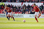 Nottingham Forest midfielder Chris Cohen  during the Sky Bet Championship match between Nottingham Forest and Brentford at the City Ground, Nottingham, England on 2 April 2016. Photo by Chris Wynne.