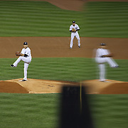 Masahiro Tanaka, New York Yankees, pitching during the New York Yankees Vs Houston Astros, Wildcard game at Yankee Stadium, The Bronx, New York. 6th October 2015 Photo Tim Clayton for The Players Tribune