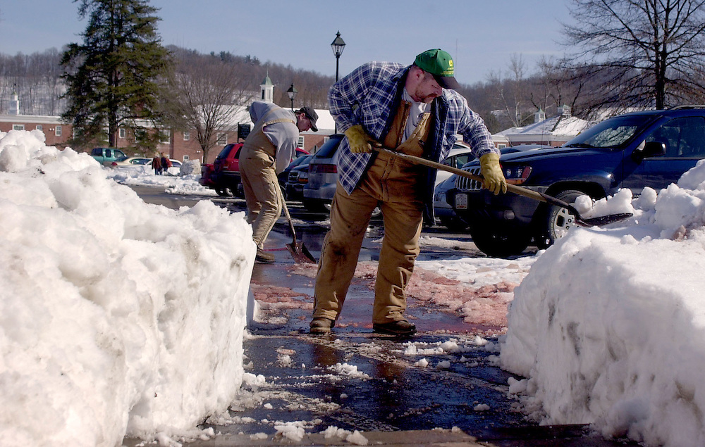Snow Removal on campus