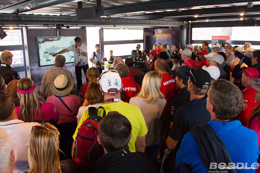 Image taken during the Cape Town stopover of the 2014-2015 Volvo Ocean Race. Image by Greg Beadle