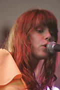 Manchester, TN, June 12, 2005; Rilo Kiley performs during The Bonnaroo 2005 Arts and Music Festival. Mandatory Credit: Photo by Bryan Rinnert/3 Sight Photogrpahy. (©) Copyright 2005 by Bryan Rinnert