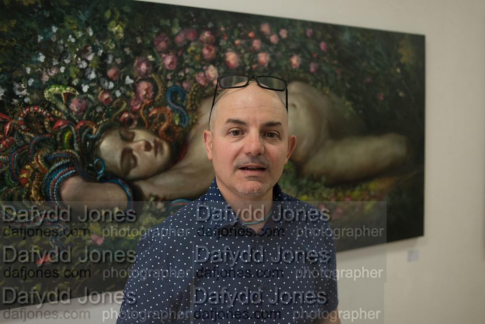 GIANLUCA PISANO, Focus on Painting, Medium Oil, David Royle and Gianluca pisano,  Bermondsey Project Space, London. 30 May 2018.