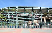 Angel Stadium Left Field Gate