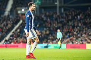 West Bromwich Albion (4) Hal Robson Kanu during the Premier League match between West Bromwich Albion and Crystal Palace at The Hawthorns, West Bromwich, England on 2 December 2017. Photo by Sebastian Frej.