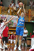 DESCRIZIONE : Cavalese Torneo di Cavalese Italia Turchia<br /> GIOCATORE : Raffaella Masciadri<br /> SQUADRA : Nazionale Italia Donne <br /> EVENTO : Raduno Collegiale Nazionale Italiana Femminile <br /> GARA : Italia Turchia<br /> DATA : 17/07/2010 <br /> CATEGORIA : tiro<br /> SPORT : Pallacanestro <br /> AUTORE : Agenzia Ciamillo-Castoria/ElioCastoria<br /> Galleria : Fip Nazionali 2010 <br /> Fotonotizia : Cavalese Torneo di Cavalese Italia Turchia<br /> Predefinita :