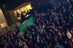 04.01.2012, Stadium Bezigrad, Ljubljana, SLO, EBEL, HDD Telemach Olimpija Ljubljana vs EC VSV 38. Runde, in picture Fans during the Erste Bank Icehockey League 38th Round match between HDD Telemach Olimpija Ljubljana and EC VSV at the open ice winter classic Stadium Bezigrad, Ljubljana, Slovenia on 2013/01/04. (Photo By Matic Klansek Velej / Sportida)