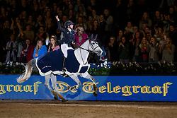 Thijssen Sanne, NED, Celine M Z<br /> Jumping Amsterdam 2018<br /> © Sharon Vandeput<br /> 27/01/18
