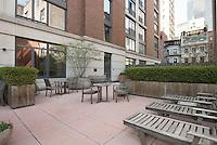 Patio Garden at 45 Park Avenue