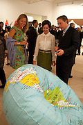 MRS. EDOUARDO FREDIANI, Indonesian Eye Contemporary Art Exhibition Reception, Saatchi Gallery. London. 9 September 2011. <br /> <br />  , -DO NOT ARCHIVE-© Copyright Photograph by Dafydd Jones. 248 Clapham Rd. London SW9 0PZ. Tel 0207 820 0771. www.dafjones.com.