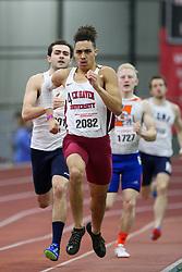 Cruz, Lock Haven, 400<br /> Boston University Athletics<br /> Hemery Invitational Indoor Track & Field