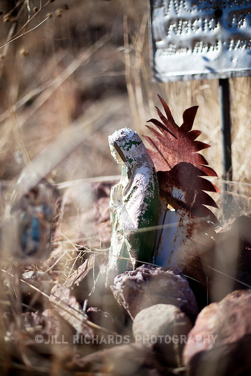 The Harshaw Cemetery is located in the ghost town of Harshaw, located about 15 minutes east of Patagonia. Located in Southern Arizona, Patagonia is known for its birding and wineries.