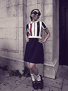 Mod girl, Brighton Mod Convention, 2015.