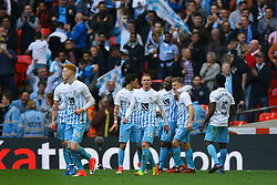 Goal, George Thomas of Coventry City scores, Coventry City 2-0 Oxford United - Photo mandatory by-line: Jason Brown/JMP -  02/04//2017 - SPORT - Football - London - Wembley Stadium - Coventry City v Oxford United - Checkatrade Trophy Final