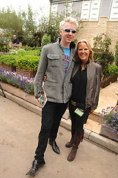 PHILIP TREACEY and ALICE BAMFORD at the 2008 Chelsea Flower Show 19th May 2008.<br />