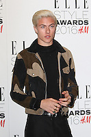 Lucky Blue Smith, ELLE Style Awards 2016, Millbank London UK, 23 February 2016, Photo by Richard Goldschmidt