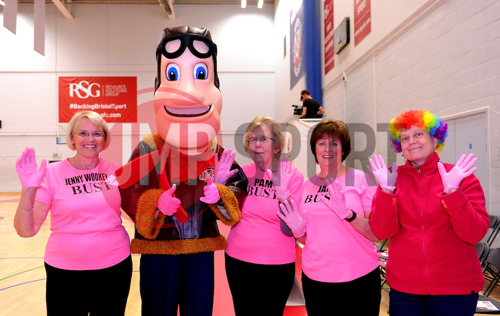 - Photo mandatory by-line: Paul Knight/JMP - Mobile: 07966 386802 - 10/10/2015 - BASKETBALL - SGS Wise Arena - Bristol, England - Bristol Flyers v Newcastle Eagles - British Basketball League