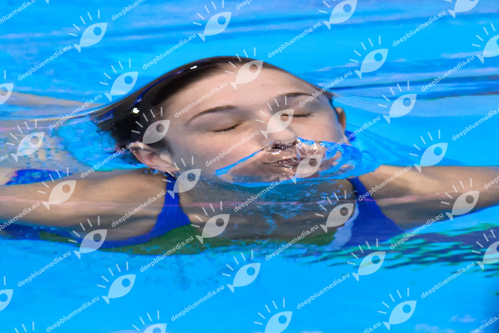 Elena BERTOCCHI ITA <br /> Silver Medal <br /> Women 1m Springboard Final <br /> London, Queen Elizabeth II Olympic Park Pool <br /> LEN 2016 European Aquatics Elite Championships <br /> Diving  <br /> Day 03 11-05-2016<br /> Photo Andrea Staccioli/Deepbluemedia/Insidefoto