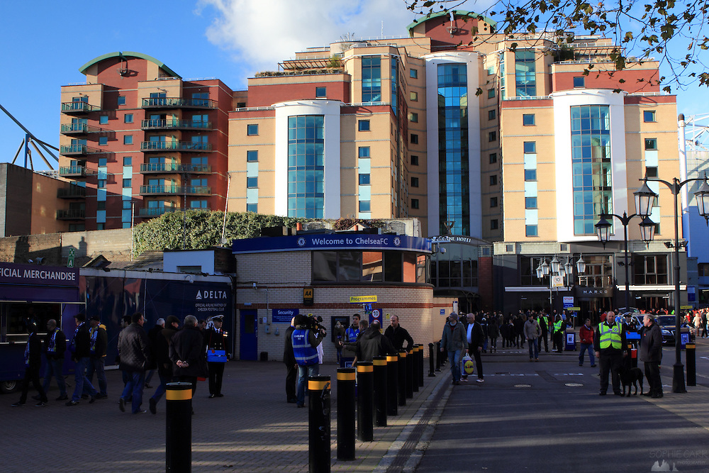 Stamford Bridge, Chelsea Football Club's ground, Fulham, London SW6