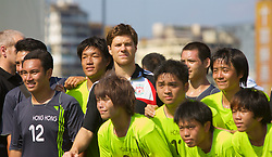 Hong Kong, China - Thursday, July 26, 2007: Liverpool's Xabi Alonso attends the Adidas Asia Challenge 2007, a 5-a-side event at the Tsimshatsui Drive-in Theatre in Hong Kong. (Photo by David Rawcliffe/Propaganda)