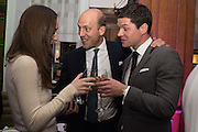 ALEXANDRA EDWARDS; CARLO CARELLO; CORY SOUTAR, The Brown's Hotel Summer Party hosted by Sir Rocco Forte and Olga Polizzi, Brown's Hotel. Albermarle St. London. 14 May 2015