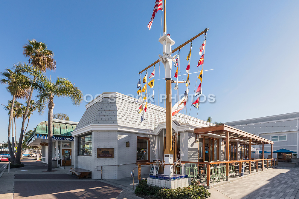 Bear Flag Fish Restaurant in Via Lido Plaza Newport Beach