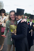 GEORGINA WILLIAMS; PHILIPPA HOLLAND, Side-Saddle Dash, Southern Spinal Injuries Trust charity Day. Wincanotn. 25 October 2015.