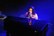 Evanescence performs a secret show at Manhattan Center Grand Ballroom, New York. November 4, 2009