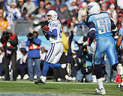 NASHVILLE, TN - DECEMBER 3:  Wide receiver Marvin Harrison #88 of the Indianapolis Colts catches a 68 yard touchdown pass against the Tennessee Titans at LP Field on December 3, 2006 in Nashville, Tennessee. The Titans defeated the Colts 20-17. ©Paul Anthony Spinelli *** Local Caption *** Marvin Harrison