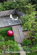 Terrace garden. View from the top of the house. Designer: Malgorzata Helman