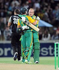 Hamilton-Cricket, Twenty20, New Zealand v South Africa