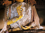 Tsong Kappa statue with Mudra gesture. Arunachal Pradesh, India