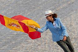 Opening ceremony, Ferrer Salat Beatriz, ESP<br /> World Equestrian Games - Tryon 2018<br /> © Hippo Foto - Sharon Vandeput<br /> 11/09/2018