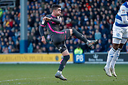 Leeds United midfielder Pablo Hernandez (19)  during the EFL Sky Bet Championship match between Queens Park Rangers and Leeds United at the Kiyan Prince Foundation Stadium, London, England on 18 January 2020.