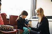 CHICAGO, IL – DECEMBER 7, 2018: Scenes of pediatric healthcare at Arlington Pediatrics.