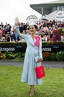 03/08/2017   Repro free   Aoife MacCana, Galway, winner of the coveted g Hotel Best Dressed Lady title and €10,000 in prizes at the Galway Races . Photo: Andrew Downes, xposure