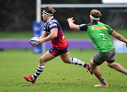 Nick Fenton-Wells of Bristol Bears United - Mandatory by-line: Paul Knight/JMP - 02/12/2018 - RUGBY - Clifton RFC - Bristol, England - Bristol Bears United v Harlequins - Premiership Rugby Shield