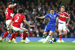 May 8, 2017 - Chelsea, Greater London, United Kingdom - Chelsea's Pedro.during Premier League match between Chelsea and Middlesbrough at Stamford Bridge, London, England on 08 May 2017. (Credit Image: © Kieran Galvin/NurPhoto via ZUMA Press)