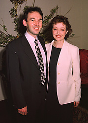 MR JEREMY & DR MANON WILLIAMS, she is assistant private Secretary to HRH The Prince of Wales and sister of Mrs William Hague (Ffion Jenkins)  at a reception in London on 26th March 1998.MGJ 58