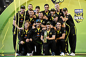 191101 Australia v Sri Lanka - 3rd T20 at Melbourne