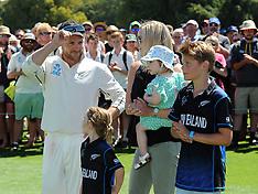Christchurch-Cricket, New Zealand v Australia, 2nd test, day 5