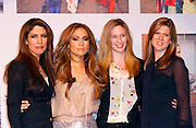 Linda Lopez, Jennifer Lopez and executives appear to launch her Venus shaver campaign at Radio City Music Hall in New York City, New York on February 2, 2011.