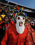 Johannesburg South Africa Opening Ceremony Confederations Cup 2009 14.06.2009.Home fan.