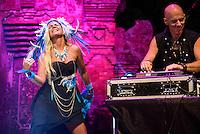 Deya Dova performing at the Bali Spirit Festival, Ubud, Bali, Indonesia, 3/4/2015.